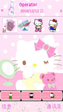 hello kitty 塞班S60V5手机主题